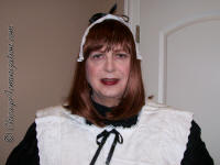 Edwardian Sissy Maid Belinda - at your service!